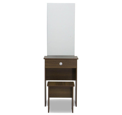 Experion Dressing Table Set (Walnut)