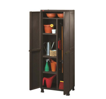 Keter Rattan Multipurpose Cabinet With Legs D KT 73 9530