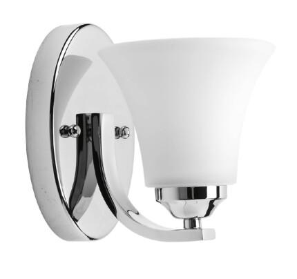bathroom lighting fixtures photo 15. Progress Lighting Adorn 1 Light Bath Vanity In Chrome [P2008-15] Bathroom Fixtures Photo 15 S