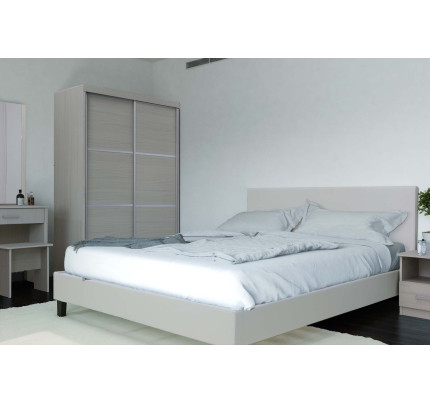 Alfreda Bedroom Set In White Wash