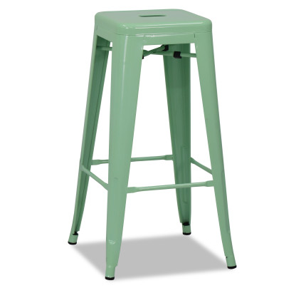natural bucket seat round cqbooths bar wood stool metal product