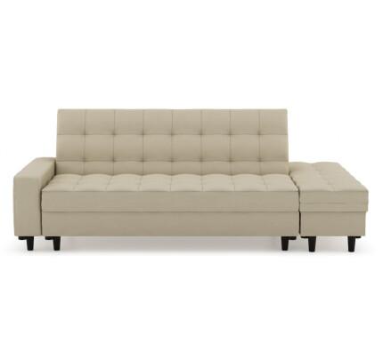 Thora Multi-Storage Sofa Bed (Fabric Beige)