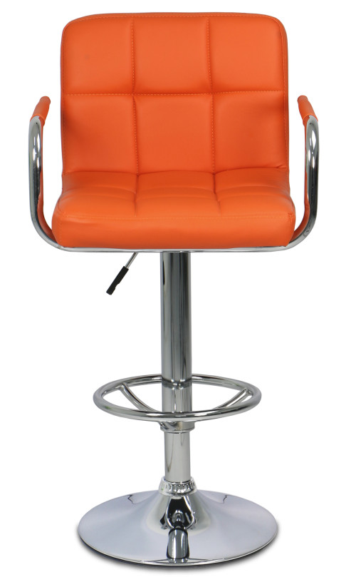 Valda  Bar Stool (Orange)