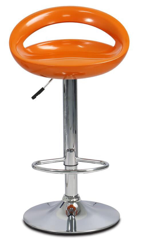 Jaymi Bar Stool (Orange)
