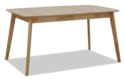 Kimberly Butterfly Extension Table Oak