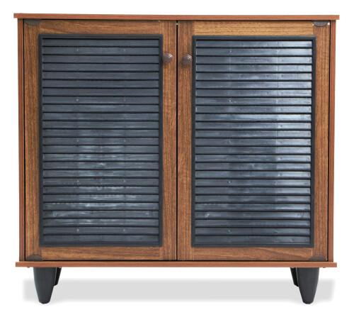Gifford Shoe Cabinet in Walnut