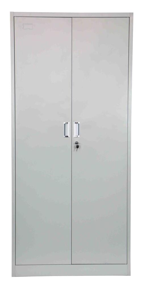 Helene High Steel Filing Cabinet Light Grey