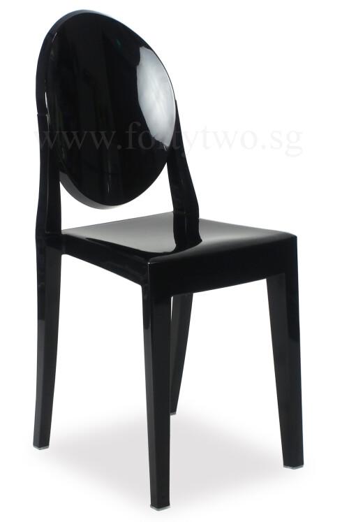 Designer replica louis ghost chair black furniture for Designer furniture replica europe