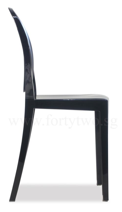 Designer Replica Louis Ghost Chair Black Designer Chairs Living Room Furn