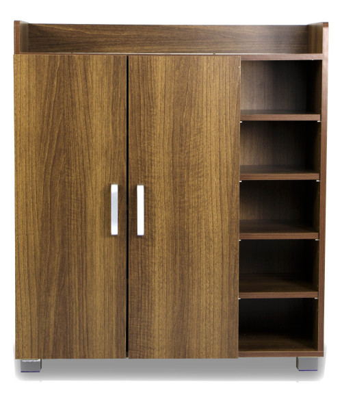 Experion Shoe Cabinet (Walnut)