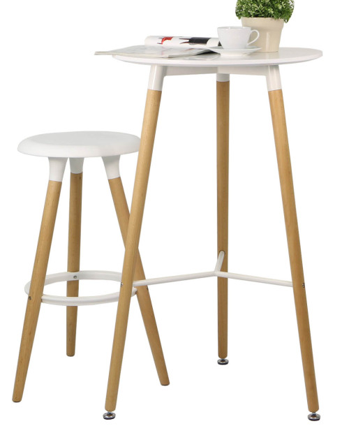 Spectrum Bar Table Set (White)