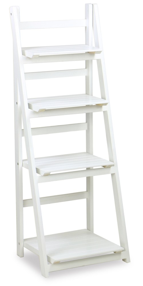 Rosea Foldable 4 Tier Flower Stand White