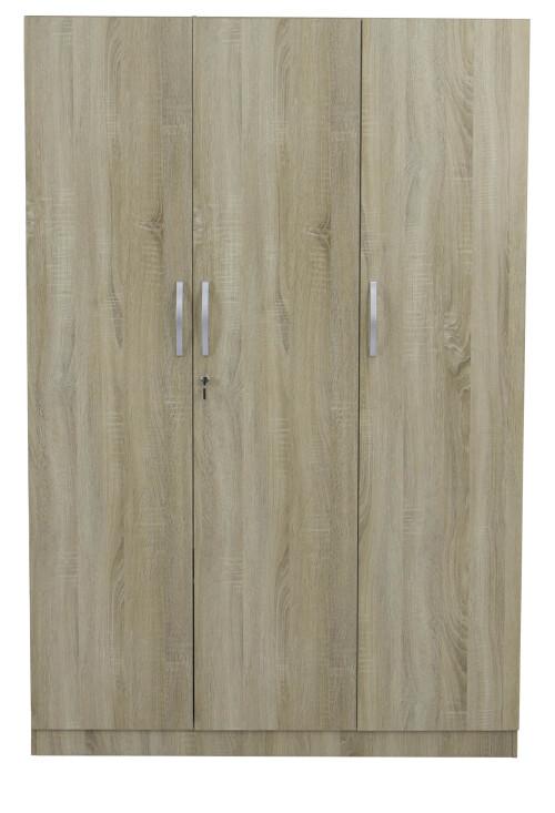 Malcom 3 Door Wardrobe in Sonoma Oak