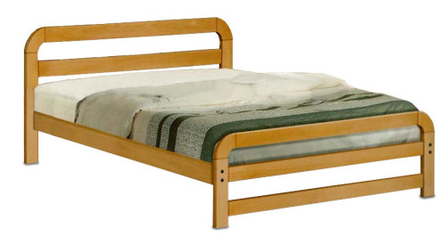 Malin Wooden Bed Frame King Sized