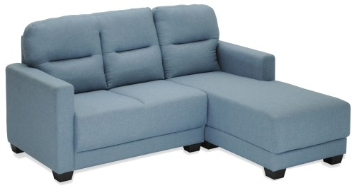Aurora Fabric L-Shaped Sofa