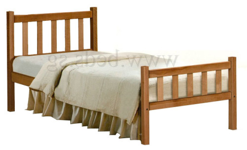 Denot Wooden Bed Frame Single Sized