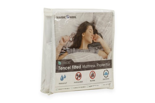 Magic Koil Tencel Fitted Mattress Protector