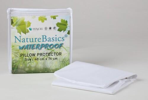 Nature Basics Tencel Waterproof Pillow / Bolster Protector