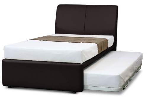 MaxCoil 3 in 1 Bed Hotel Edition in Dark Brown