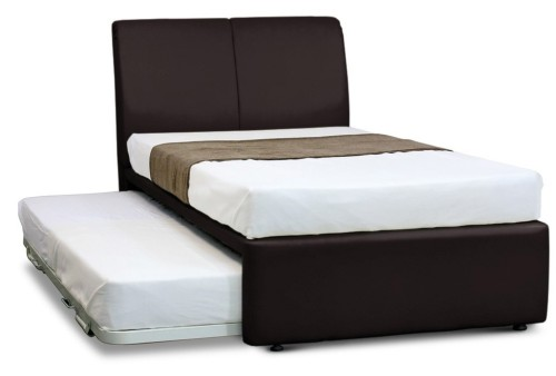 MaxCoil 3 in 1 Bed Hotel Edition in Dark Brown Bedset Package