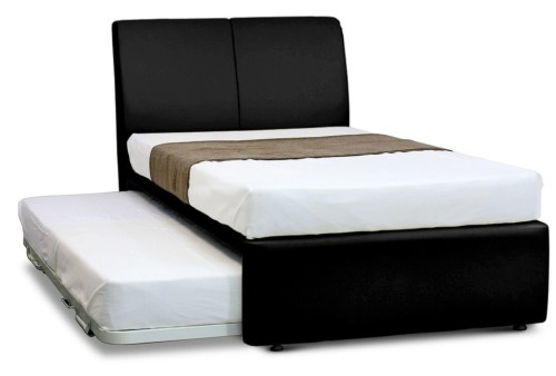 MaxCoil 3 in 1 Bed Hotel Edition in Black Bedset Package