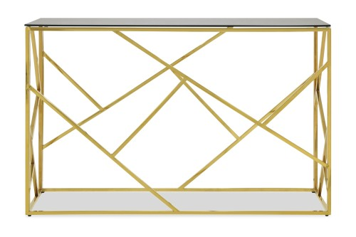 Opal Console Table II with Gold Legs