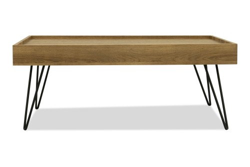 Harwood Coffee Table (Natural Wood)
