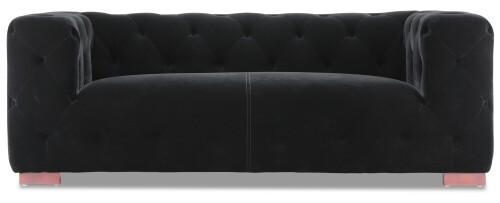 Anuli 2 Seater in Velvet Black