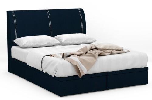 Volnix Fabric Storage Bed Frame