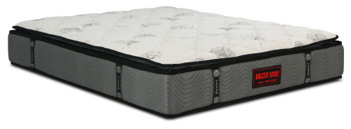 Vazzo 1000 Pocketed Spring Mattress With Natural Latex Pillow Top