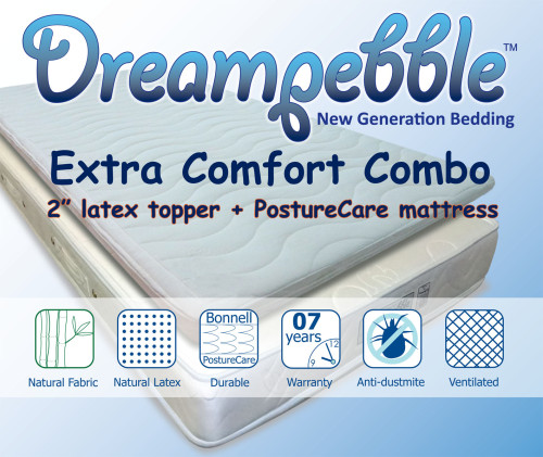 Dreampebble Extra Comfort Combo