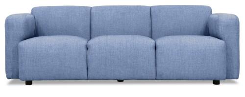 Denise 3 Seater Sofa (Denim Blue)