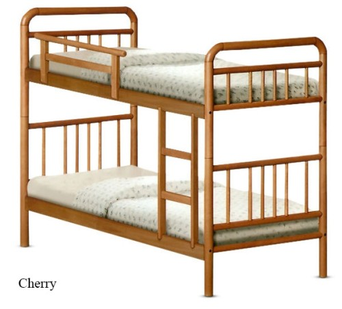 Romers Double Deck Wooden Bed