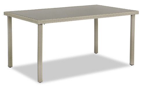 Wakiky Outdoor Dining Table Cream