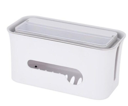 Noah All In One Cable Storage Box (White)