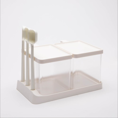 Vaasa Spice Containers M (Clear/White)