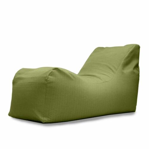 Addison Bean Bag in Green