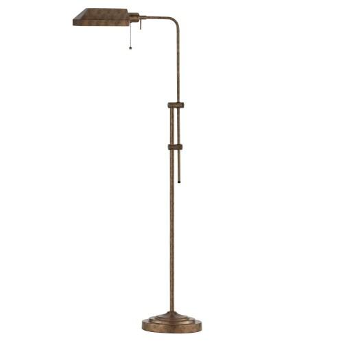 Cal Lighting Pharmacy Floor Lamp In Rust (BO-117FL-RU)