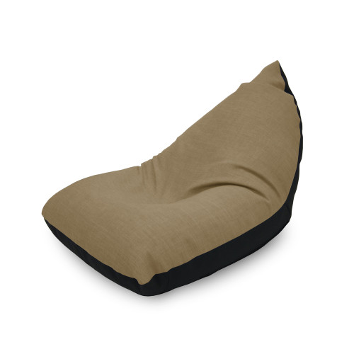 Doodle Triangle Bean bag - Beige