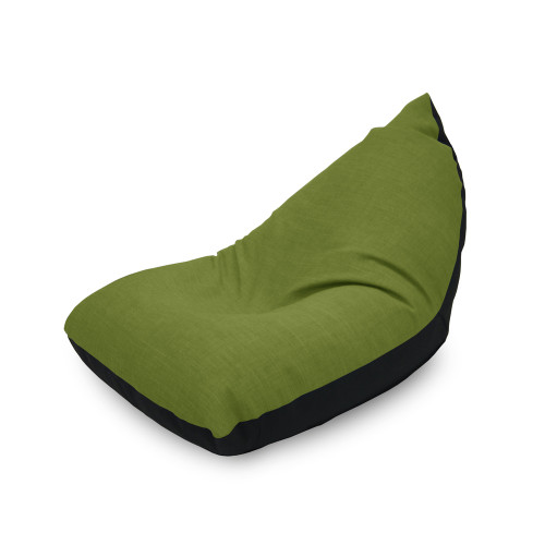 Doodle Triangle Bean bag - Green