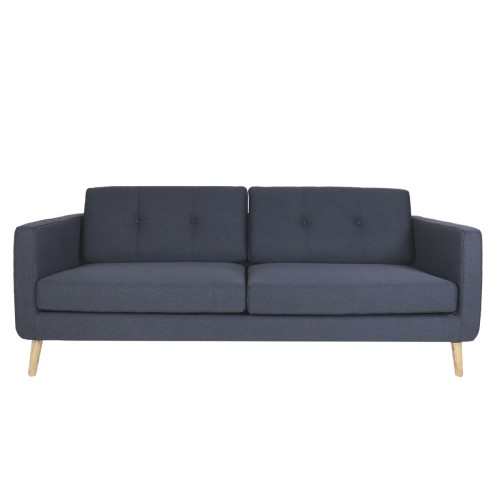 Eddie 3 Seater Sofa, Dark Grey