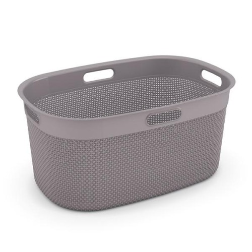 Filo Laundry Basket 45L (Colonial Taupe)
