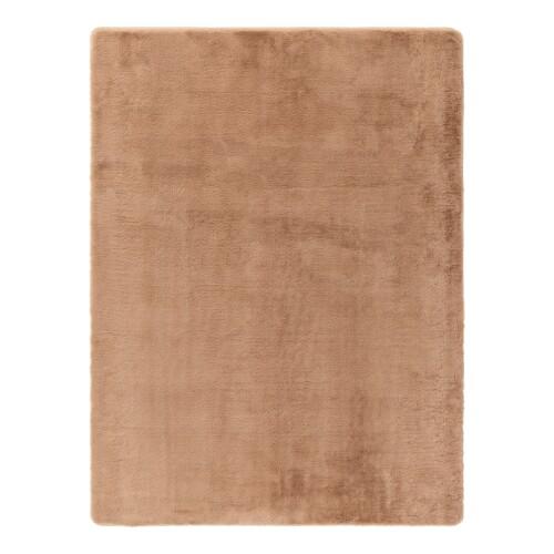 Coella Faux Fur Carpet (Camel)