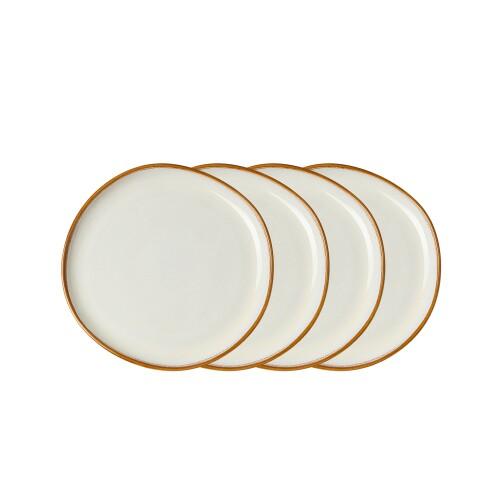 Jaiden Salad Plate - White (Set of 4)