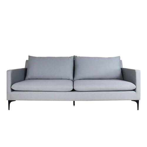 Hayley 3 Seater Sofa, Light Grey
