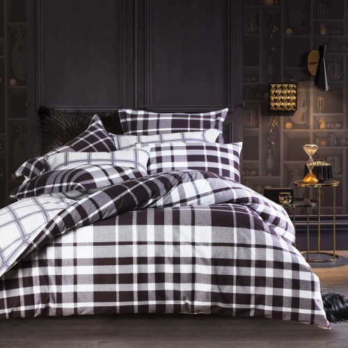 Intero - 100% Cotton Sateen Geo Print 920TC Bed Set - Etro