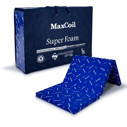MaxCoil Super Foam Foldable Mattress Single
