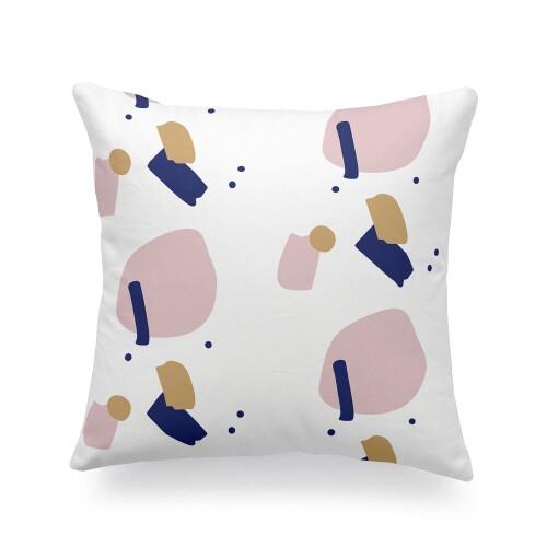 Kyrie Printed Cushion (Beige)