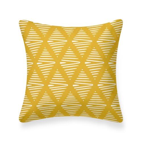 Elba Cushion (Yellow)