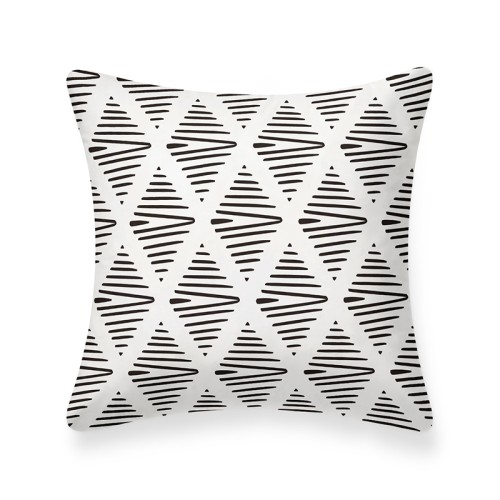 Elba Cushion (White/Black)